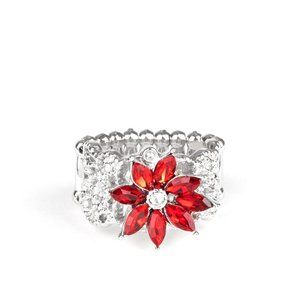 Brilliantly Blooming Ring - Perfect for Holidays!